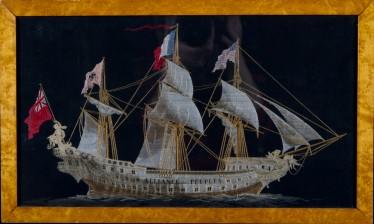 Laivakirjontatyö