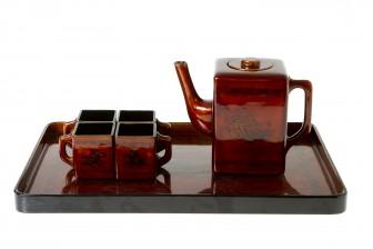 Teekalusto, 6 osaa