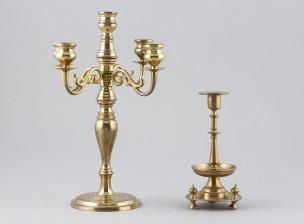 Kynttilänjalka ja kynttelikkö