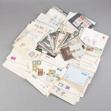 Erä kortteja, kirjekuoria, ym.