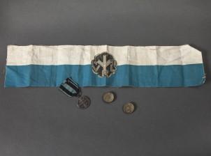 Mitali, merkkejä, 2 kpl ja käsivarsinauha