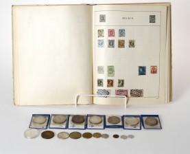 Rahoja ja postimerkkejä