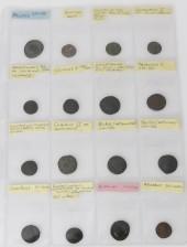 Roomalaisia kolikoita, 16 kpl