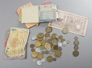 Erä rahoja, ym.