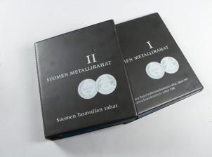 Suomen metallirahat I, II