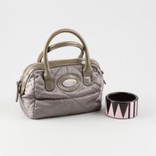 Käsilaukku (Furla) ja rannekoru