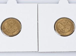 Kultarahoja, 2 kpl