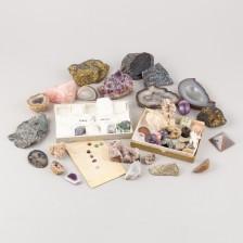 Erä kiviä ja mineraaleja