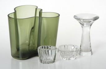 Wirkkala, Tapio, 3 kpl ja Aalto, Alvar