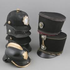 Kypäriä ja hattuja, 6 kpl