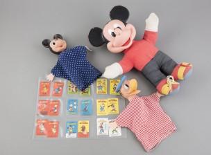 Diney-figuriineja, 3 kpl, ym.
