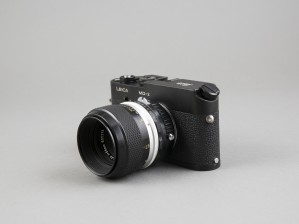Leica MD-2 ja Nikon 55mm, 1:3,5