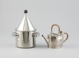 Jääpala-astia ja kahvipannu