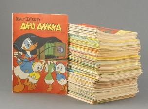 Aku Ankka, 1957, 1958 ja 1960-luku