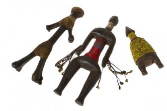 Hedelmällisyysnukkeja, 3 kpl (Dawayo, Fali ja Tsad)