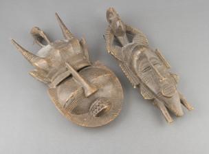 Afrikkalaisia naamioita, 2 kpl