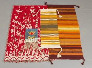 Tekstiilejä, 4 kpl