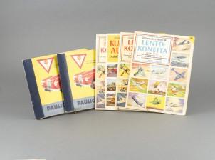 Paulig-autokirjoja, 2 kpl ja Kultaiset askartelukirjat, 4 kpl