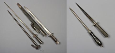 Pistimiä, 2 kpl, lukko ja työkaluja, 3 kpl
