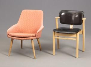 Ilmari Tapiovaara ja tuoli