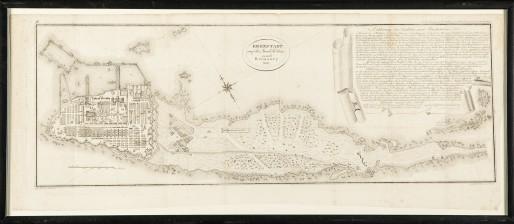 Plan över Kronstadt 1803