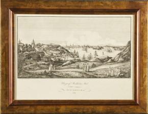Utsikt över Stockholms stad, 1801