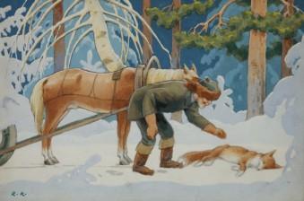 Koivu, Rudolf (1890-1946), 4 kpl/st/pcs