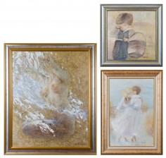 Piirto, 2 kpl ja maalaus