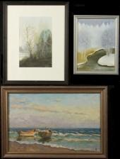 Vesiväri ja maalauksia, 2 kpl