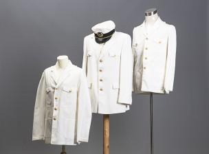 Erä kauppalaivaston pukuja, (Kapt. Harry Fransman)
