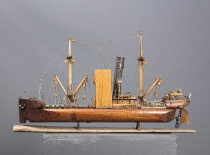Laivan pienoismalli
