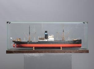 Laivan pienoismalli (S/S Otto H.)