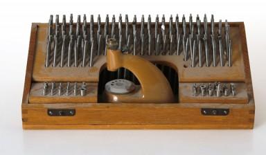Erä kellosepän työkaluja