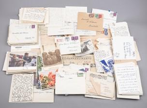 Kenraali Karl Fredrik Wilkaman ja Aila Wilkaman kirjeenvaihto n. 1900-1960