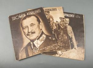 Suomen kuvalehti, 3 kpl ja allekirjoitus