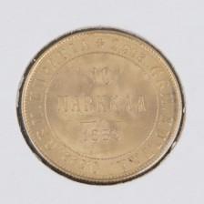 Kultaraha, 10 mk 1882