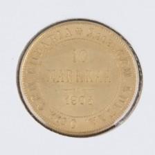 Kultaraha, 10 mk 1905