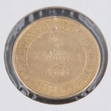 Kultaraha, 20 mk 1903