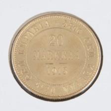 Kultaraha, 20 mk 1913