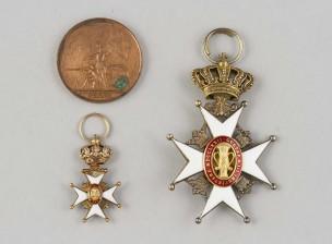 Kunniamerkki, miniatyyri ja mitali