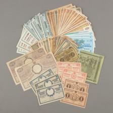 Erä suomalaisia seteleitä