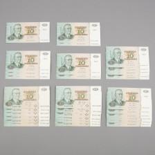 Erä seteleitä, 30 kpl
